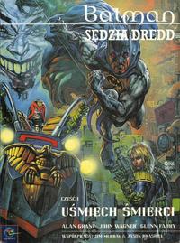 Cover Thumbnail for Batman / Sędzia Dredd - Uśmiech śmierci (Egmont Polska, 1999 series) #1