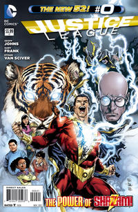 Cover Thumbnail for Justice League (DC, 2011 series) #0 [Ivan Reis Variant Cover]