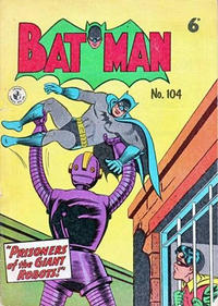 Cover Thumbnail for Batman (K. G. Murray, 1950 series) #104