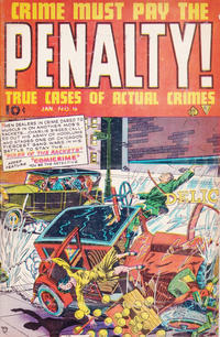 Cover Thumbnail for Crime Must Pay the Penalty! (Ace International, 1948 ? series) #4