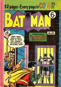 Cover Thumbnail for Batman (K. G. Murray, 1950 series) #82
