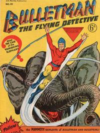 Cover Thumbnail for Bulletman (Arnold Book Company, 1951 series) #10