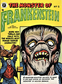Cover Thumbnail for Frankenstein Comics (Arnold Book Company, 1953 series) #5