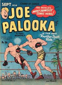 Cover for Joe Palooka (Magazine Management, 1952 series) #26