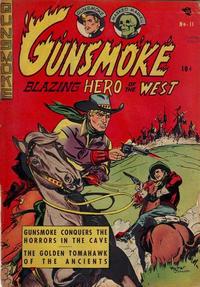 Cover Thumbnail for Gunsmoke (Export Publishing, 1949 series) #11