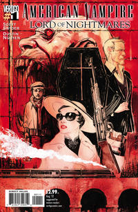 Cover Thumbnail for American Vampire: Lord of Nightmares (DC, 2012 series) #1