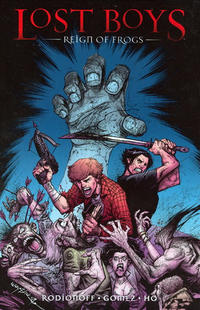 Cover Thumbnail for Lost Boys: Reign of Frogs (DC, 2009 series)