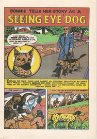 Cover Thumbnail for Bonnie Tells Her Story as a Seeing Eye Dog (The Seeing Eye, 1963 series)