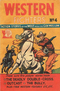 Cover Thumbnail for Western Fighters (Horwitz, 1950 ? series) #4