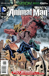 Cover Thumbnail for Animal Man (DC, 2011 series) #13