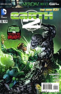 Cover for Earth 2 (DC, 2012 series) #5