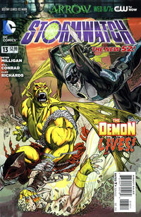 Cover Thumbnail for Stormwatch (DC, 2011 series) #13