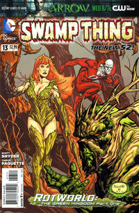 Cover Thumbnail for Swamp Thing (DC, 2011 series) #13