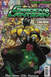 Cover Thumbnail for Green Lantern (Editorial Televisa, 2012 series) #3
