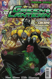 Cover Thumbnail for Green Lantern (Editorial Televisa, 2012 series) #3