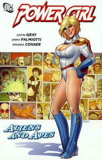 Cover Thumbnail for Power Girl: Aliens and Apes (DC, 2010 series)