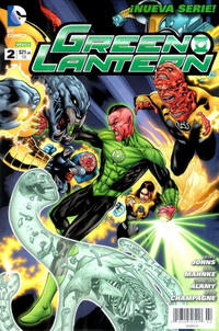 Cover Thumbnail for Green Lantern (Editorial Televisa, 2012 series) #2