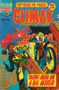 Cover Thumbnail for Climax Adventure Comic (K. G. Murray, 1962 ? series) #19