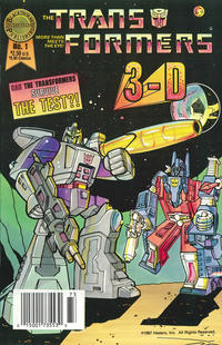 Cover Thumbnail for The Transformers in 3-D (Blackthorne, 1987 series) #1