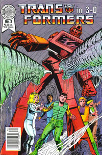 Cover Thumbnail for The Transformers in 3-D (Blackthorne, 1987 series) #2