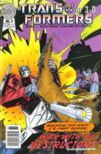 Cover Thumbnail for The Transformers in 3-D (Blackthorne, 1987 series) #3