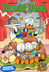 Cover Thumbnail for Donald Duck (Sanoma Uitgevers, 2002 series) #40/2012