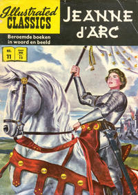 Cover Thumbnail for Illustrated Classics (Classics/Williams, 1956 series) #11 - Jeanne d'Arc [HRN 158]