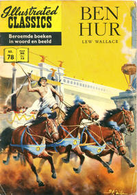 Cover Thumbnail for Illustrated Classics (Classics/Williams, 1956 series) #78 - Ben Hur [HRN 152]