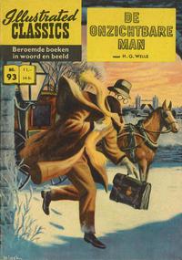 Cover Thumbnail for Illustrated Classics (Classics/Williams, 1956 series) #93 - De onzichtbare man [HRN 163 - 100 cent]