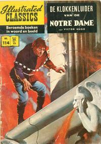 Cover Thumbnail for Illustrated Classics (Classics/Williams, 1956 series) #114 - De klokkenluider van de Notre Dame [HRN 152]