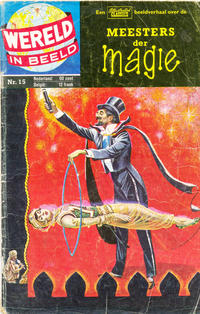 Cover Thumbnail for Wereld in beeld (Classics/Williams, 1960 series) #15 - Meesters der magie