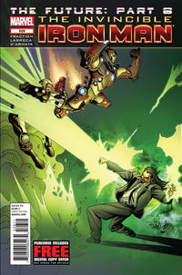 Cover Thumbnail for Invincible Iron Man (Marvel, 2008 series) #526