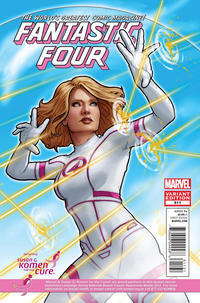 Cover Thumbnail for Fantastic Four (Marvel, 2012 series) #611 [Susan G. Komen]