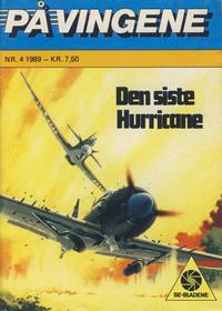 Cover Thumbnail for På Vingene (Serieforlaget / Se-Bladene / Stabenfeldt, 1963 series) #4/1989