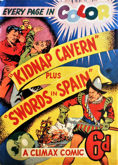 Cover for Climax Color Comic (K. G. Murray, 1947 series) #[1]