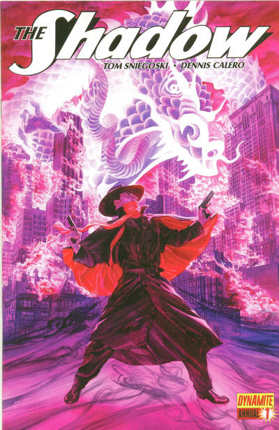 Cover for The Shadow Annual (Dynamite Entertainment, 2012 series) #1
