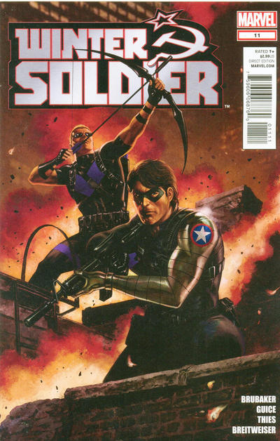 Cover for Winter Soldier (Marvel, 2012 series) #11