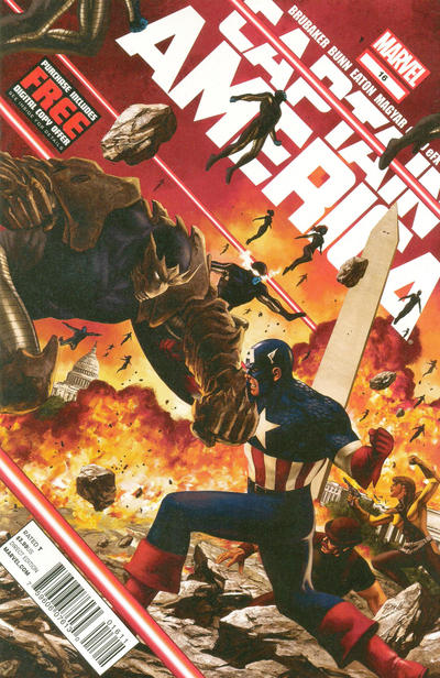 Cover for Captain America (Marvel, 2011 series) #16