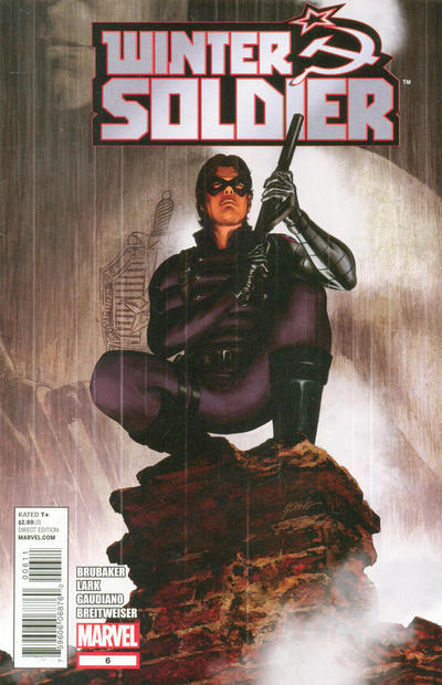 Cover for Winter Soldier (Marvel, 2012 series) #6 [Amazing Spider-Man In Motion Variant Cover by Kalman Andrasofszky]