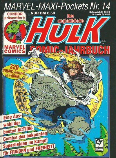 Cover for Marvel-Maxi-Pockets (Condor, 1980 series) #14