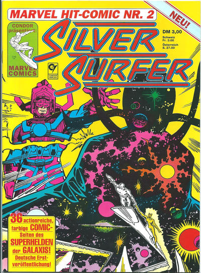 Cover for Marvel Hit Comic (Condor, 1989 series) #2