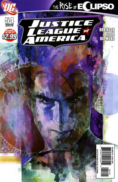 Cover for Justice League of America (DC, 2006 series) #54 [David Mack Variant Cover]