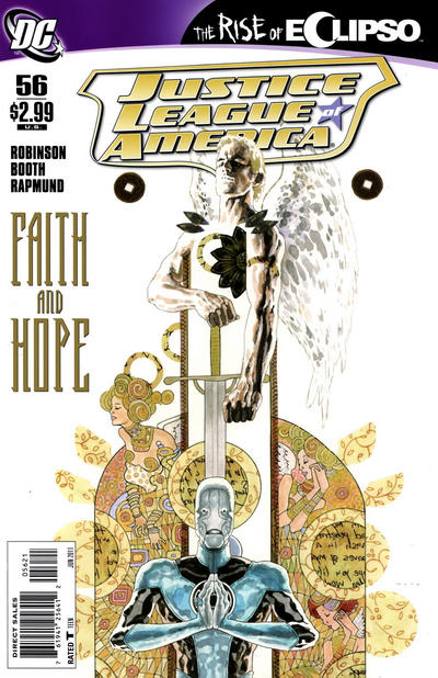 Cover for Justice League of America (DC, 2006 series) #56 [David Mack Variant Cover]