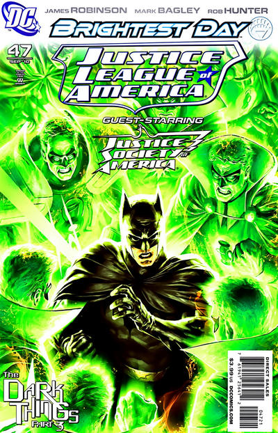Cover for Justice League of America (DC, 2006 series) #47