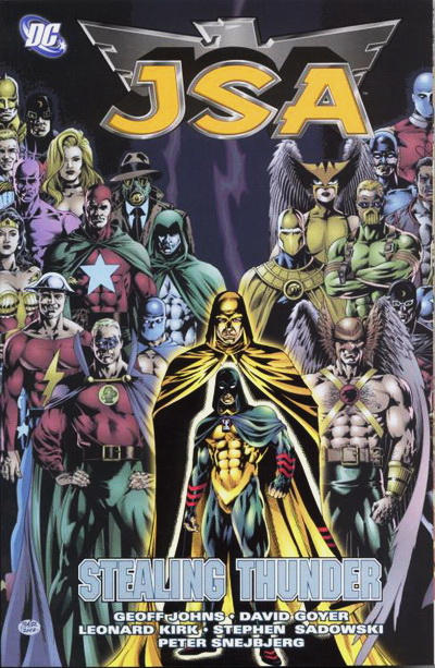 Cover for JSA (DC, 2000 series) #5 - Stealing Thunder