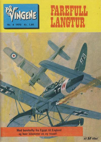 Cover for På Vingene (Serieforlaget / Se-Bladene / Stabenfeldt, 1963 series) #4/1970