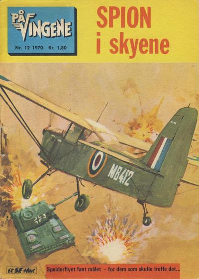 Cover for På Vingene (Serieforlaget / Se-Bladene / Stabenfeldt, 1963 series) #12/1970