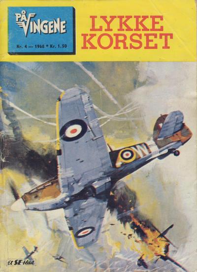 Cover for På Vingene (Serieforlaget / Se-Bladene / Stabenfeldt, 1963 series) #4/1968