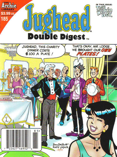 Cover for Jughead's Double Digest (Archie, 1989 series) #185 [Direct]