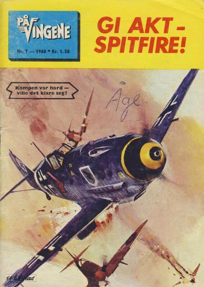 Cover for På Vingene (Serieforlaget / Se-Bladene / Stabenfeldt, 1963 series) #7/1968